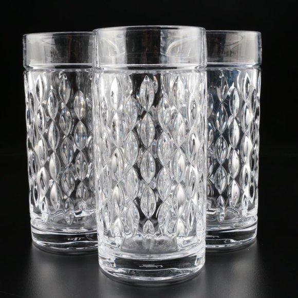 3 NEW Ralph Lauren Barware ASTON Highball Glasses